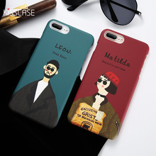 KISSCASE Couple Case Killer Leon For iPhone 5 5S SE X XS Max XR Cover