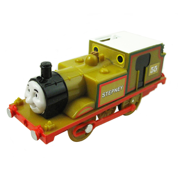 T0195 Electric Thomas and friend Stepney Trackmaster engine Motorized train Chinldren child kids plastic toys gift
