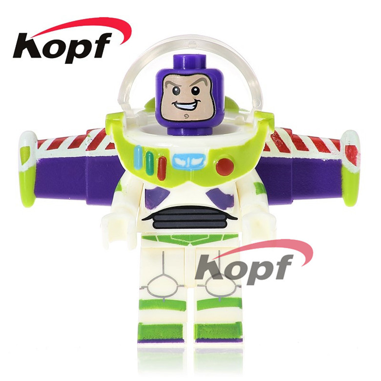 20Pcs Super Heroes Buzz Lightyear Chicken Suit Rocket Boy Inhumans Royal Family Building Blocks Bricks Children Gift Toys PG1030