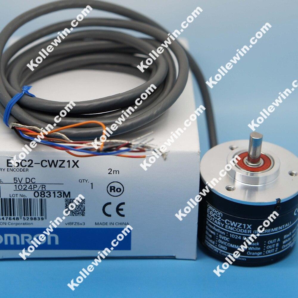 Free shipping encoder E6C2-CWZ1X 1024P/R 5V DC New