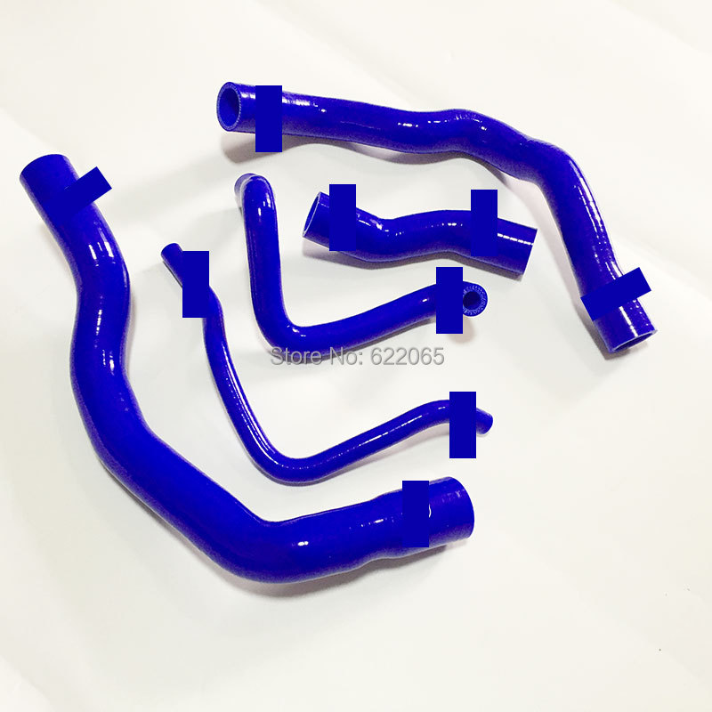 цена на Performance SILICONE RADIATOR COOLANT HOSE KIT FOR BMW MINI COOPER S R52 R53 01-06 Blue