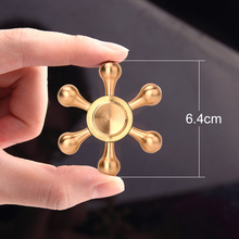 DODOELEPHANT Fidget Spinner Finger Spinner Hand Spinner Water Drop Brass Spiner  Relieve Stress Funny Toys NO Package Box JX-07