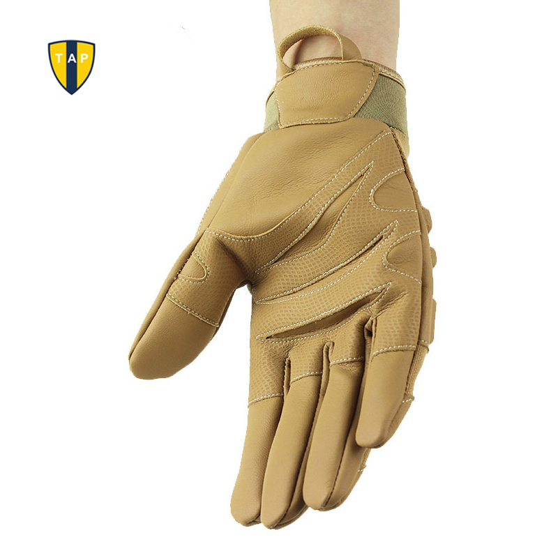 Motorcycle Racing Gloves Tactical Motor Sports Military Army Leather - Sportswear and Accessories - Photo 5