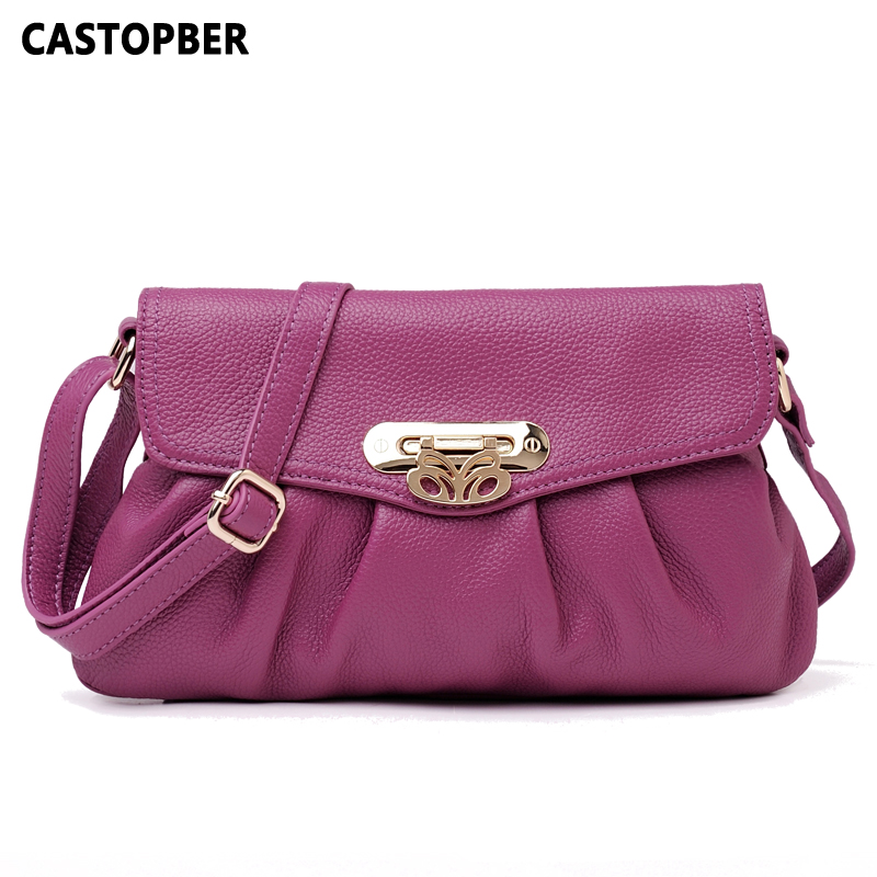 Designer Fashion Women Messenger Bags 100% Cowhide Genuine Leather Women's Bag Cover Crossbody Shoulder Handbags High Quality fashion women bags 100% first layer of cowhide genuine leather women bag messenger crossbody shoulder handbags tote high quality