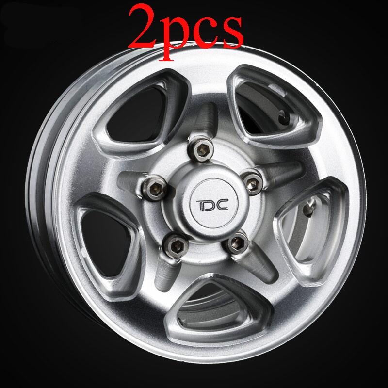2PCS Aluminum 1 55 inch Wheel Hub Mitsubishi PAJERO Leopaard Inner Beadlock Wheel Rim tf2 hilux