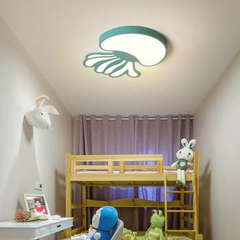 Jellyfish Creative Modern led ceiling light for bedroom kids baby boy girl children Room Surface Mounted ceiling lamp fixture