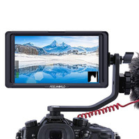 FEELWORLD F5 5 Inch Monitor On Camera DSLR Field 4K HDMI IPS Full HD 1920x1080 Focus Assist DC Input Output Include Tilt Arm
