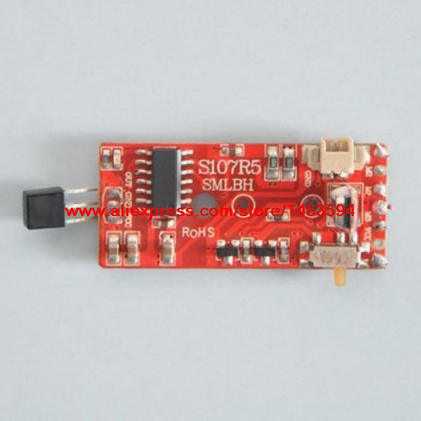 Wholesale Syma S107 S107G RC Helicopter Spare Parts PCB font b board b font Receieving font online get cheap remote control circuit boards aliexpress com  at honlapkeszites.co