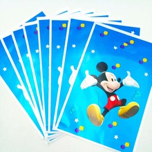 Mickey Mouse loot bag Girls Kids Birthday Party Decoration Set Supplies Baby Pack event