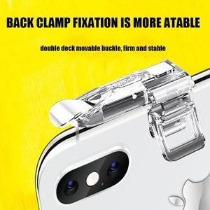 Image 4 - PUBG Mobile l1r1 tirador controlador botón joystick gamepad para teléfono inteligente android para iphone Teléfono universal disparador de juego