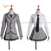 Kisstyle Fashion Assassination Classroom Kaede Kayano Girl School Uniform Cosplay Clothing Cos Costume