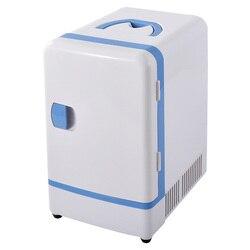 Портативный мини-холодильник 12 V 7L с двойным использованием, многофункциональная грелка для путешествий, дома, кемпинга, холодильник для ав...