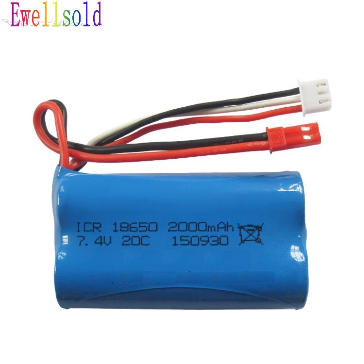 Ewellsold Free shipping  F645 F45 RC helicopter  WL912 RC racing boat spare parts 7.4V 2000mah upgrade Li-ion battery free shipping 2 4g mjx f45 f645 rc helicopter spare parts the main shaft connect buckle spare parts for mjx f45 f645