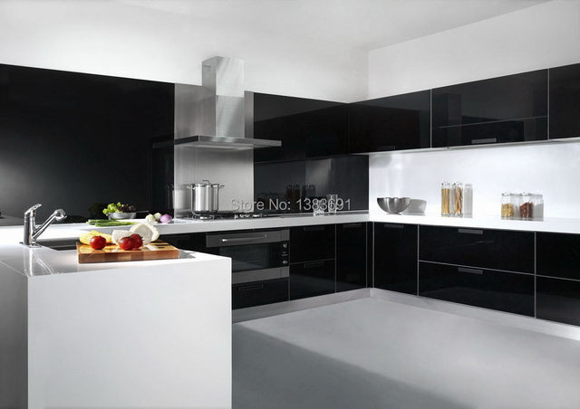 Panas Penjualan Pengiriman Gratis Desain Dapur Kustom Kabinet Ikea
