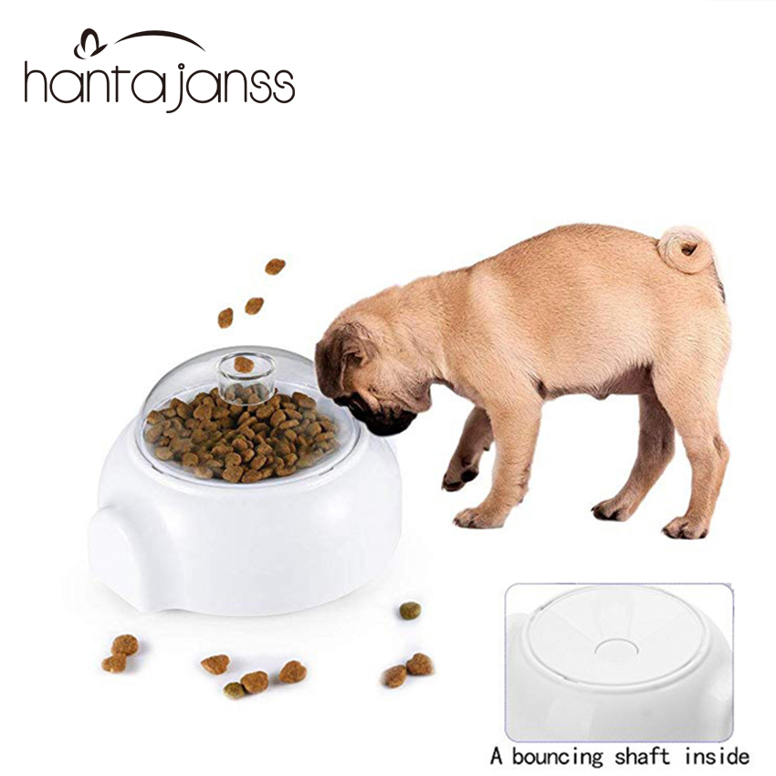 Funny dog feeder slow dog food Bowl catapult Thrower Feeder Puzzle Healthy sport Interactive dog feeding toy