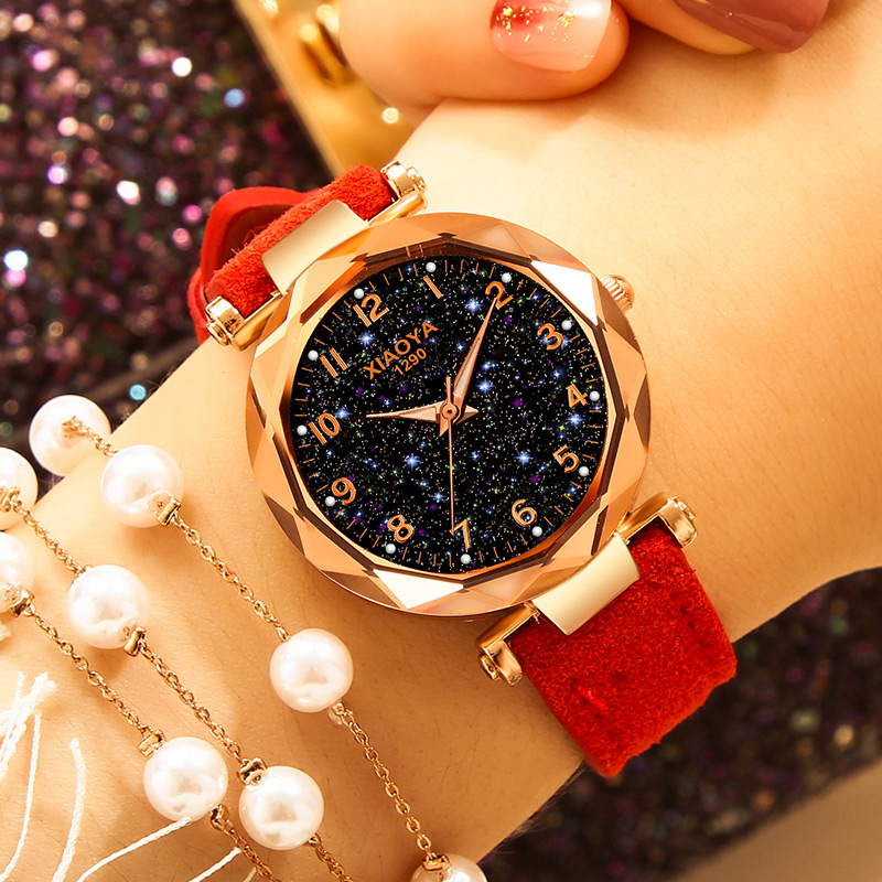fashion-women-watches-2019-best-sell-star-sky-dial-clock-luxury-rose-gold-women's-bracelet-quartz-wrist-watches-new-dropshipping