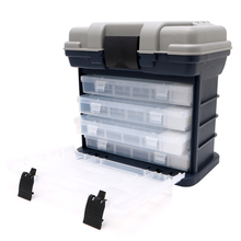 5 Layer Fishing Tackle Box Plastic Handle Fishing Box Carp Fishing Tools