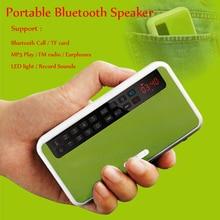 DOITOP Bluetooth Stereo Speaker Wireless Music Speaker Support Bluetooth Call/TF card/MP3/FM radio/LED light/Sound Record