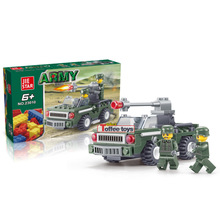 Defense building blocks educational toys assembled reconnaissance vehicles building blocks birthday present and Christmas gift