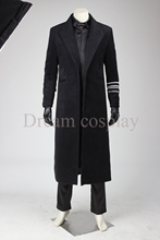 2016  Custom Made Star Wars The Force Awakens Hux Cosplay Costume Adult Men's Costume Carnival Party Outfit halleween costume