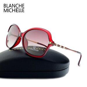 Image 3 - Yeni moda güneş gözlükleri kadınlar polarize UV400 degrade Lens güneş gözlüğü kadın Vintage Sunglass 2020 ile güneş gözlüğü