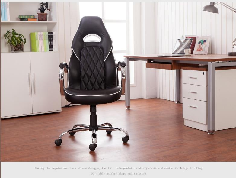 office computer chair hotel information table stool playing game red black chair furniture shop retail wholesale 240337 ergonomic chair quality pu wheel household office chair computer chair 3d thick cushion high breathable mesh