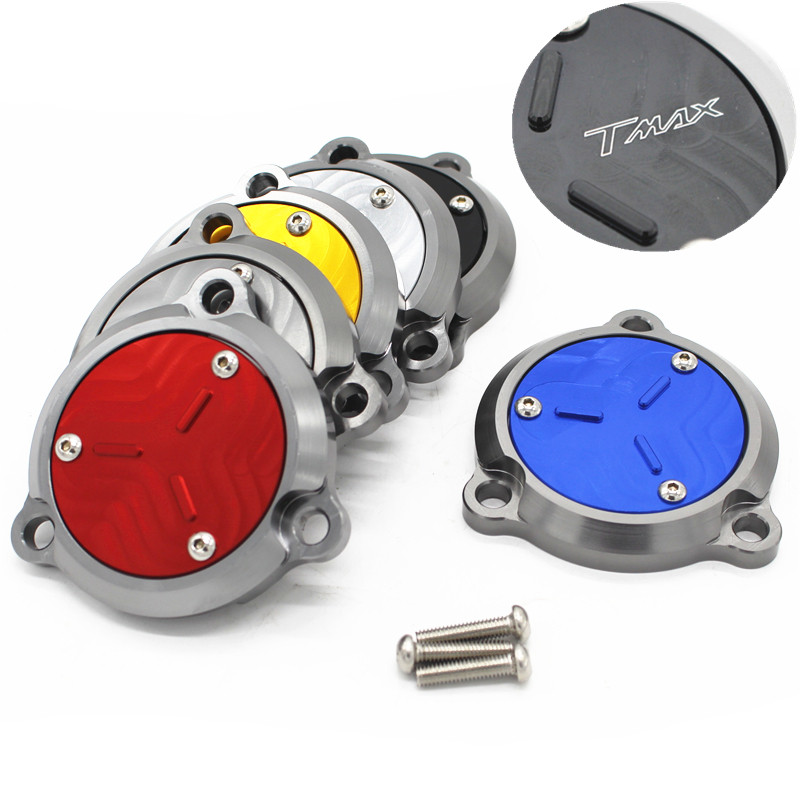 Fast Shipping aluminum Motorcycle Engine Stator Protective Cover set decoration for yamaha TMAX530 <font><b>T</b></font>-<font><b>max</b></font> <font><b>530</b></font> 2012-2017 2018 <font><b>2019</b></font> image