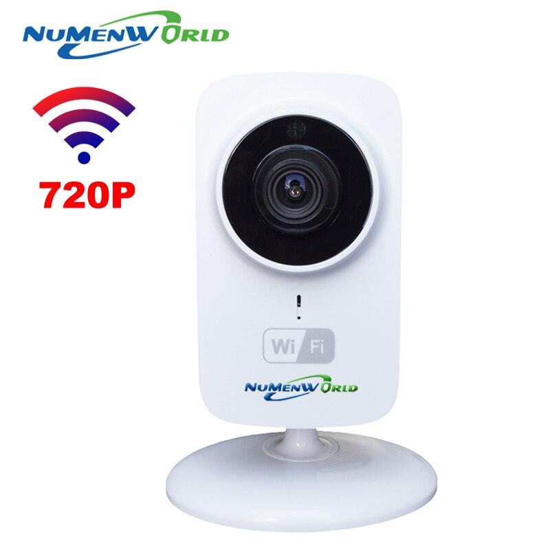 imágenes para HD Mini Wifi Cámara IP Inalámbrica 720 P P2P TF Tarjeta SD bebé Protección de Red Monitor de CCTV Cámara de Seguridad Inicio Remoto Móvil Cam