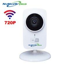 HD Mini Wifi Cámara IP Inalámbrica 720 P P2P TF Tarjeta SD bebé Protección de Red Monitor de CCTV Cámara de Seguridad Inicio Remoto Móvil Cam