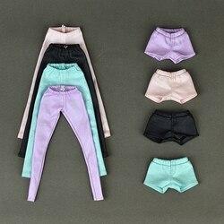 Высокое качество эластичные кожаные брюки для Барби Кукла одежда модный наряд для 1/6 BJD куклы аксессуары