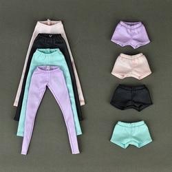 Высококачественные эластичные кожаные штаны, брюки для куклы Барби, модная одежда для 1/6, аксессуары для кукол BJD