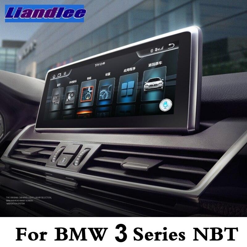 Liandlee Car Multimedia Player CarPlay For BMW 3 Series F30 F31 F34 F35  2011~2017 NBT EVO ID6 Radio