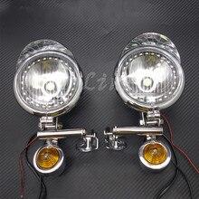 אופנוע כרום LED נהיגה ספוט ערפל אורות בר מלאך העין אור עם איתות אור לטיולים ופר מותאם אישית