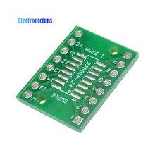 10 шт. SOP16 SSOP16 TSSOP16 к DIP16 0,65/1,27 мм IC адаптер печатной платы