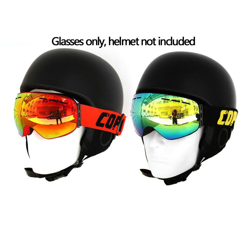 COPOZZ Skiing Glasses Cycling Goggles Anti-Fog Motocycle Eyewear Double Layers Adult Unsex for Snowboard Free Shipping