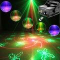 Новый Мини R & G 40 Модели Лазерного Проектора Синий Светодиод Гобо Дистанционного DJ освещение Показать Дискотека Рождество Танец Главная Партия Свет Этапа Шоу L40