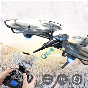 JJRC H50 H50WH WIFI FPV 0.3MP Camera Altitude Hold Headless Mode 360 Degree Roll RC Quadcopter RTF 2.4GHz jjrc h39wh h39 foldable rc quadcopter with 720p wifi hd camera altitude hold headless mode 3d flip app control rc drone
