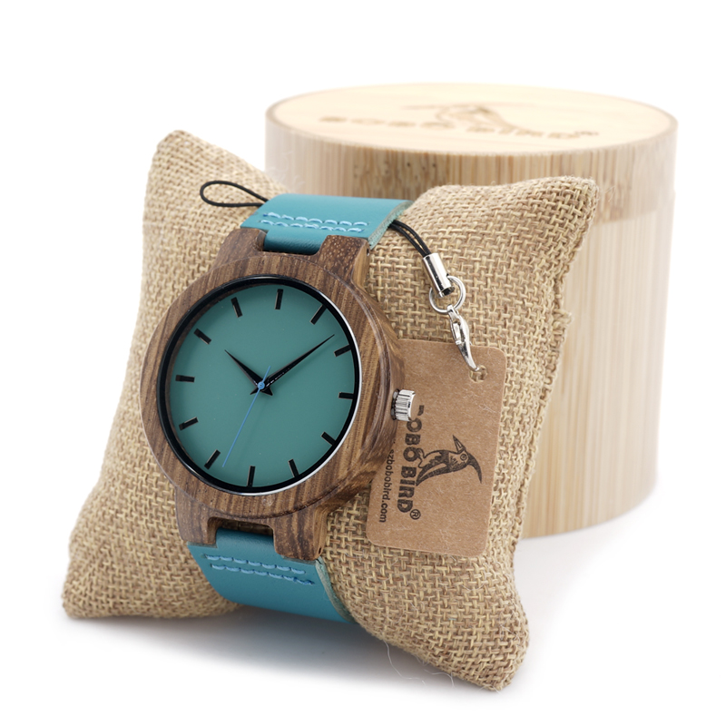 High Quality Bamboo Wood Watch For Men And Women Japanese miytor 2035 Quartz Analog Casual Watch