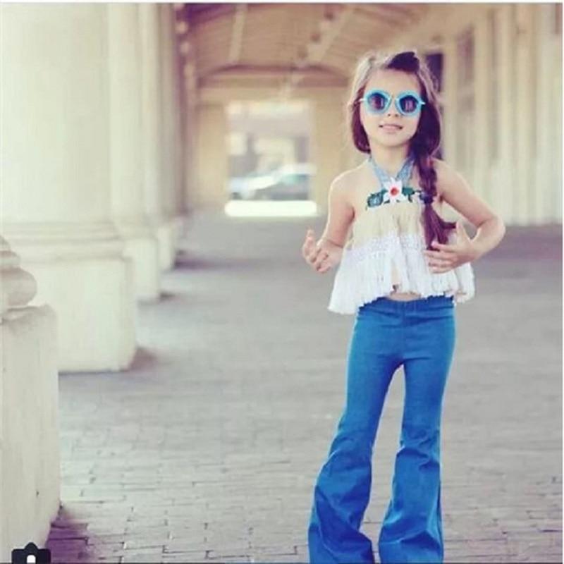 Popular Wide Leg Jeans Kids-Buy Cheap Wide Leg Jeans Kids lots ...