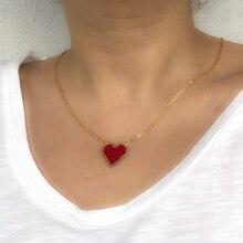 Shinus Wholesale 10pcs/lot MIYUKI Necklace Love Pendant Necklaces Miyuki Delica Woven Mexico Design Choker Joyeria Diy 19