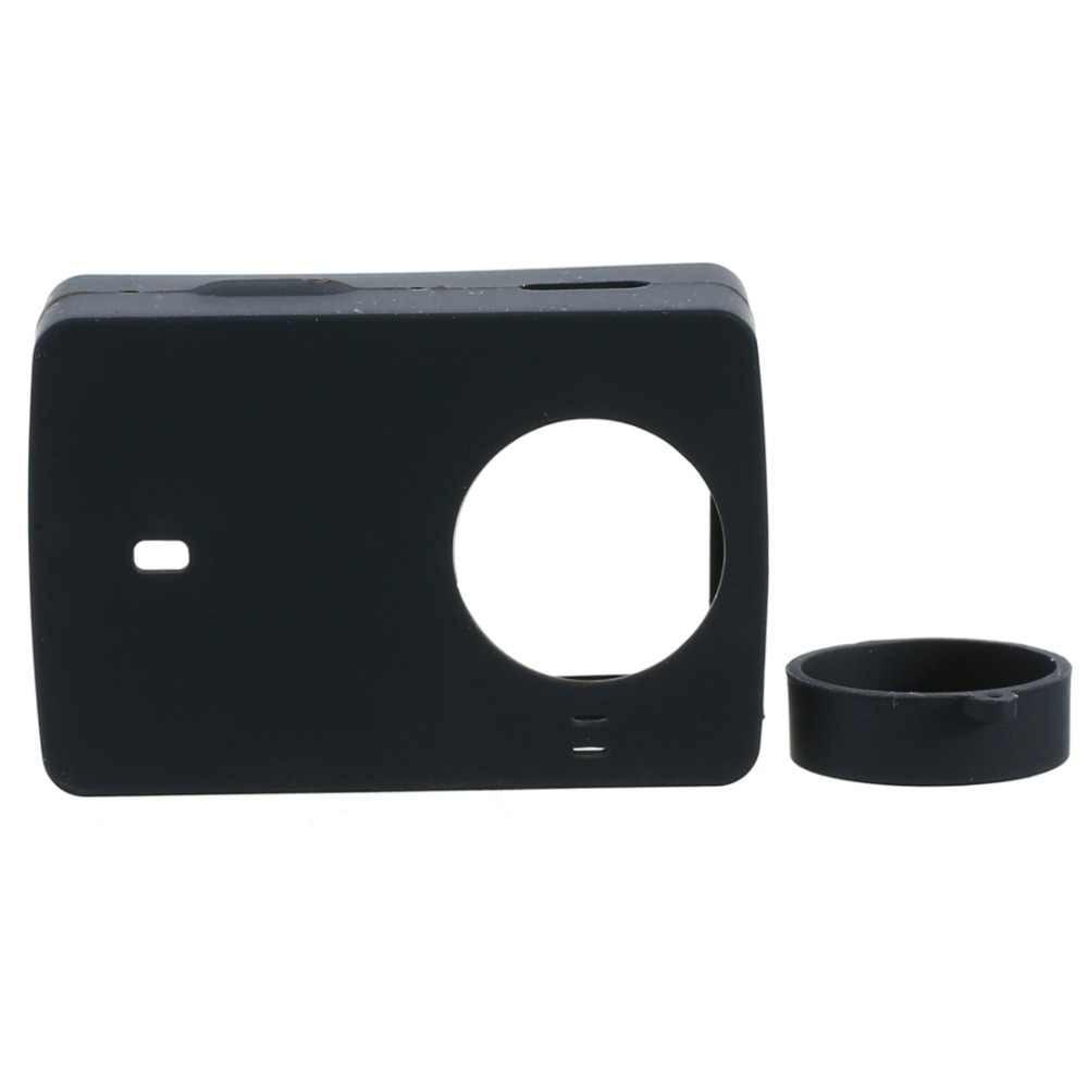 LANBEIKA キャリーバッグゴムカバー保護フレームフィルターレンズネックストラップ抗ロストバンドストラップ Xiaomi 李 II 4 k Xiaoyi カメラ