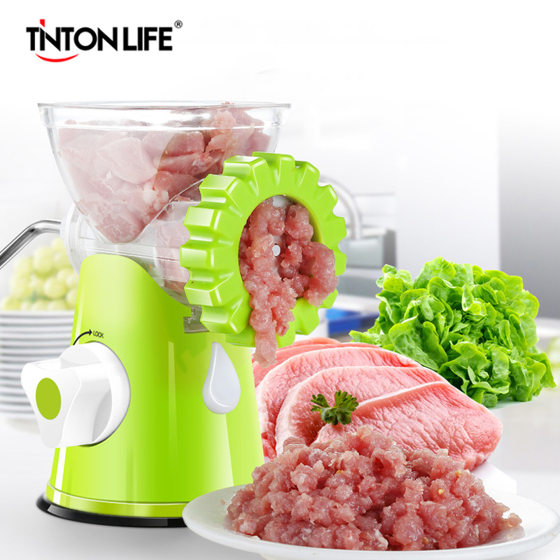 TNTON LIFE New Household Multifunction Meat Grinder High Quality Stainless Blade Home Cooking Machine Mincer Sausage Machine