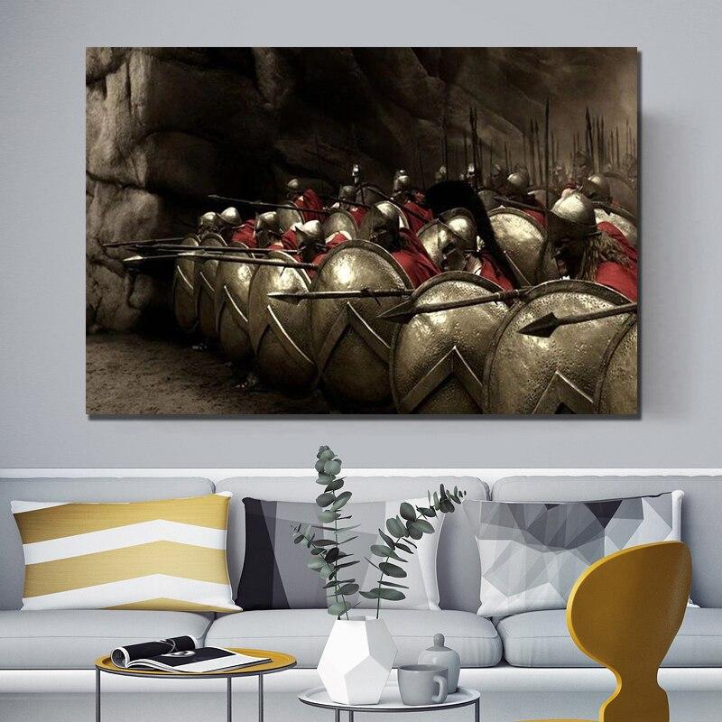 Spartan 300 Art Silk Poster 12x18 24x36