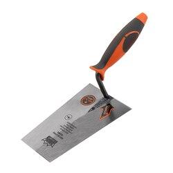 KSEIBI 180 ملليمتر بقياس مجرفة ارتفع مربع تلميح مع المطاط مقبض ل أدوات اليد الصناعية الصف Bricklaying مجرفة #281440