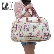 Kaisibo женщин Водонепроницаемый дорожная сумка Лето Стиль из искусственной кожи сумка вещевой мешок New Tower красоты Леди печати камера