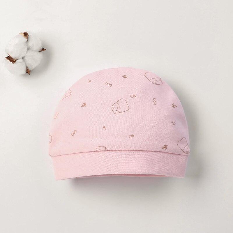 Детская шапка для 0-12 месяцев, хлопок, унисекс, мягкая милая детская шапка, шапка для новорожденных мальчиков и девочек на все сезоны, Мультяшные Шапки для малышей - Цвет: Армейский зеленый
