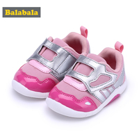 Balabala 2018 New Baby Toddler Shoes Cute Pink Shoes Comfortable Children Footwear First Step Walking Infant Girls Soft Bottom N