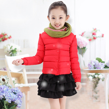 2017 winter explosion paragraph girl 80% down jacket down jacket special sales in the United States the size of children's cloth
