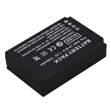 High Quality 1250mAh LP-E12 LPE12 LP E12 Camera Battery For Canon EOS 100D Kiss X7 Rebel SL1 EOS M10 DSLR Battery