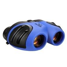 8X21Mini складной бинокль Карманный телескоп опера очки для охоты путешествия туризм хороший подарок для ребенка мальчик девочки маленький Teles